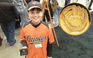 Long lines online, at expo for Baseball coins