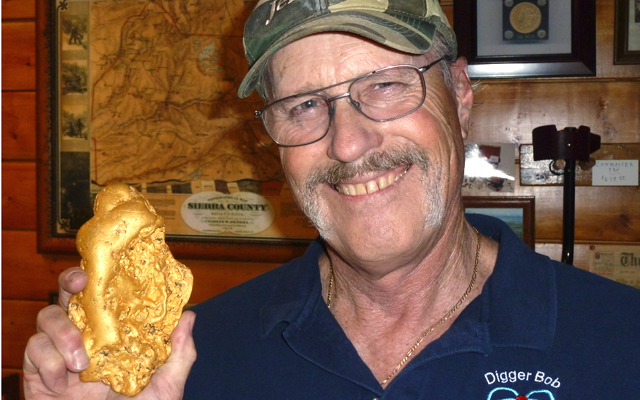 California gold nugget 'a life changer,' longtime metal detectorist 'Digger Bob' says