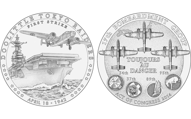 The Commission of Fine Arts recommended for the Doolittle Tokyo Raiders congressional gold medal the designs preferred by the four surviving raiders. The Treasury secretary should give the raiders the designs they want.