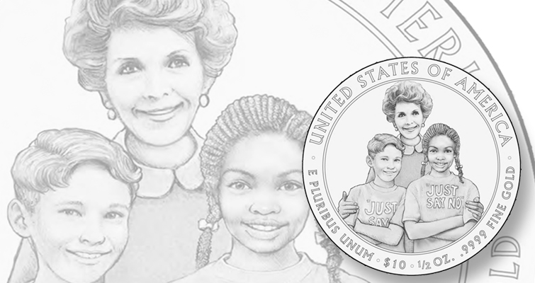 CCAC members recommend reverse for 2016 Nancy Reagan First Spouse gold