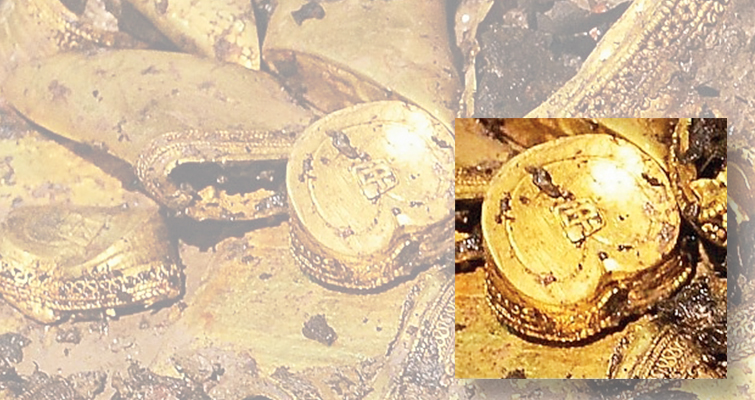 Archaeologists discover gold coins excavating royal Chinese tombs
