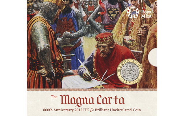 Royal Mint honors Magna Carta declaration with circulating £2 coin