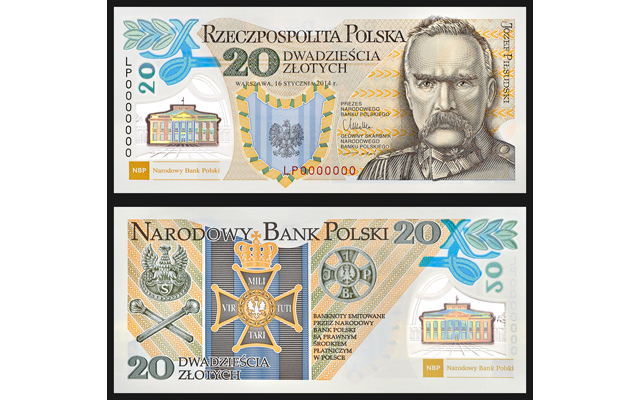 First Polish polymer banknotes honor the centenary of the Polish Legions formation