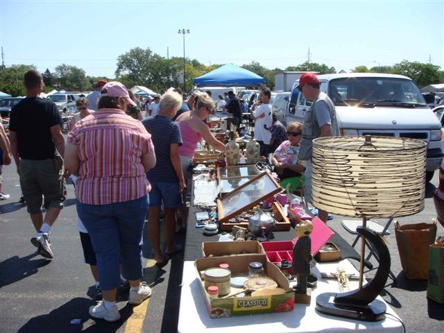 Collectibles that once cost small fortunes can be found begging for pennies at flea markets such as the Chicagoland Flea Market in Rosemont, Ill.
