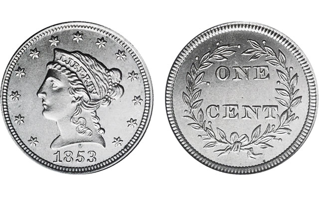 Rising metal prices in 1853 make difficult year for U S  Mint