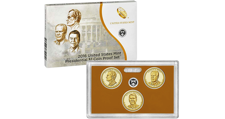 U.S. Mint lowers prices for eight 2016 numismatic coin sets