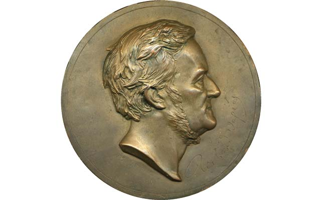 The opera has been a source of inspiration for other art forms. A uniface plaque of German composer Richard Wagner dated 1876 was likely produced during his lifetime. Image courtesy of Heritage Auctions.