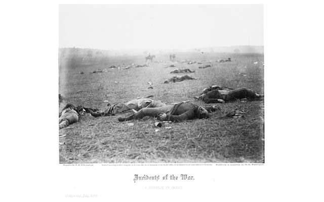 a-harvest-of-death-gettysburg