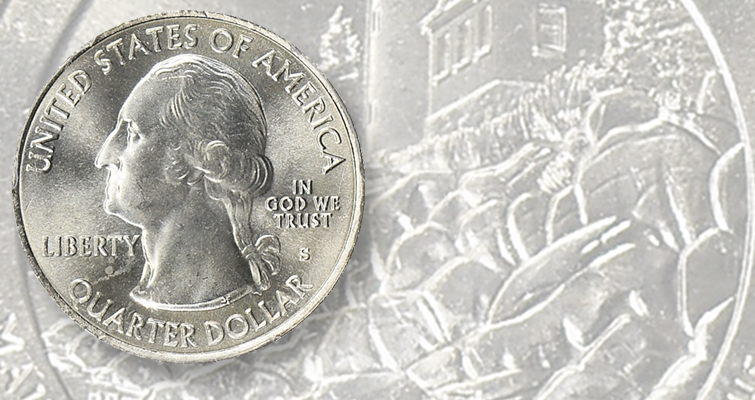 Steady demand for 'exotic' versions of America the Beautiful quarters
