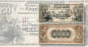 Series 1976 $2 notes has mismatched serial numbers