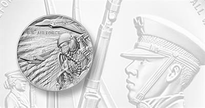 U.S. Air Force silver medal