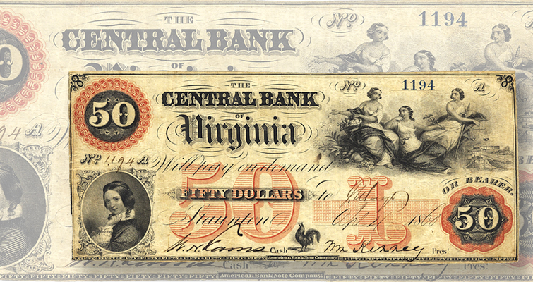 Defining symbols and figures on paper money