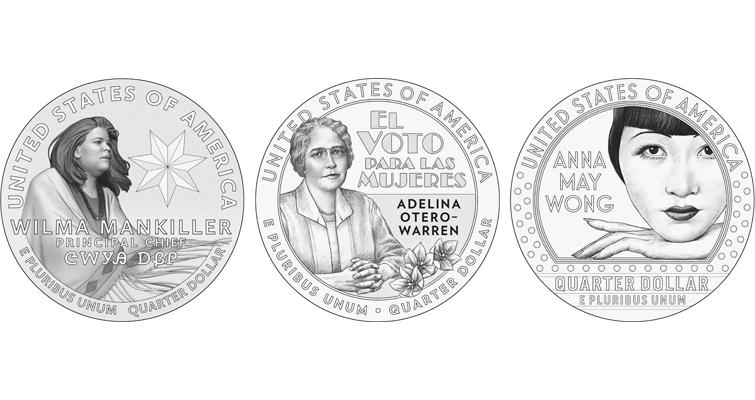 2022 American Women quarter dollars