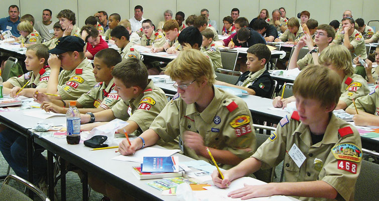 Boy Scouts Coin Collecting Merit Badge workshop