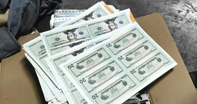 Counterfeit notes in Peru