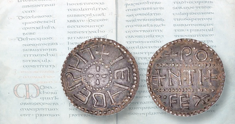 June auction offers Anglo-Saxon penny found by metal detectorist