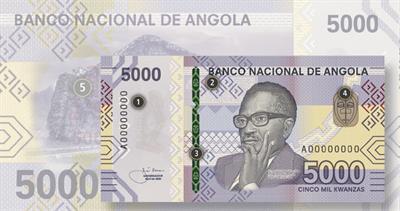 Angola 5000 kwanza