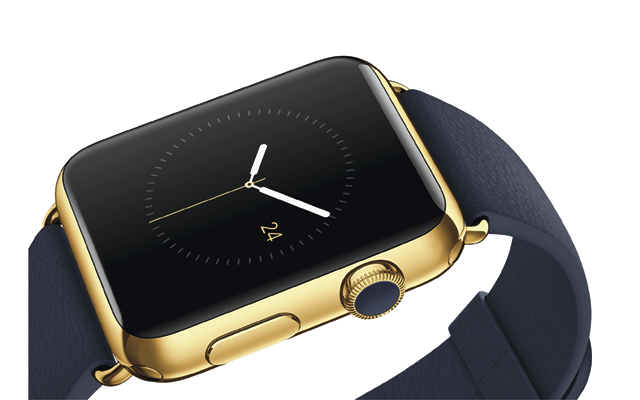 The Apple Watch Edition features a gold-adorned face and will retail for $10,000.