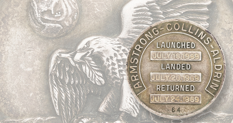 Auction features space-flown medals from American space program