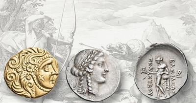 Apollo on auction coins