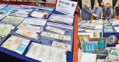 Argentina counterfeit seizure