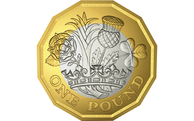 New £1 coin's reverse was designed by a 15-year-old student