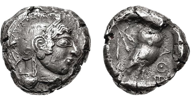 Athenian owl CNG III