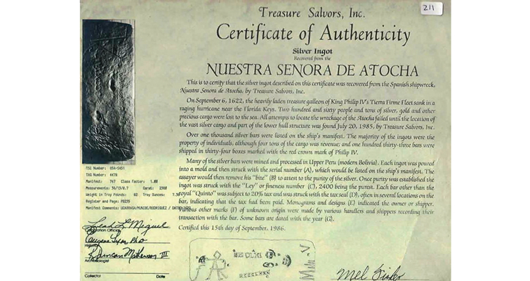 atocha-certificate