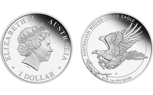 Additional Proof Wedge-Tailed Eagle silver coins take flight from Perth Mint