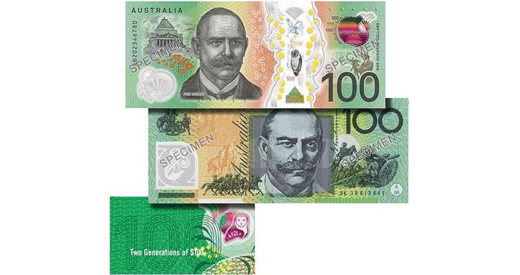 Australia banknotes