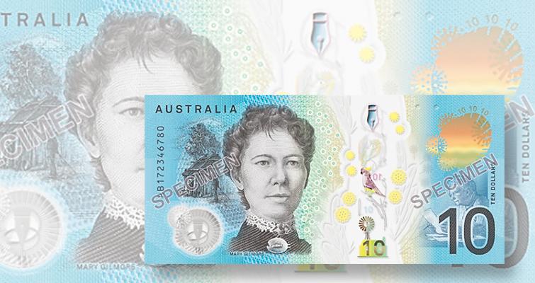 Australian 10-dollar note