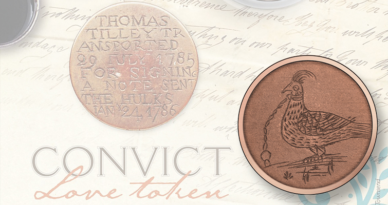 Australia revives transported convict love tokens as coins in 2016 series