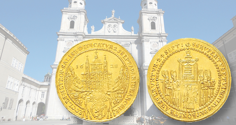 Austrian gold coin marks completion of Salzburg Cathedral project