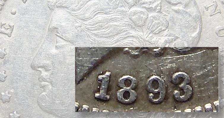 Identifying A Fake Key Date 1893 S Morgan Dollar Coin World