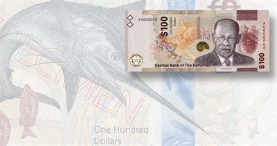 2021 Bahamas 100-dollar note