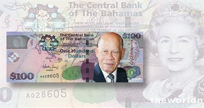 Bahamas note mockup
