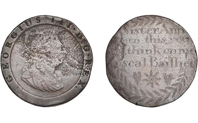 Convict 'transportation tokens' are affordable highlights in Dix Noonan Webb's May 13 auction
