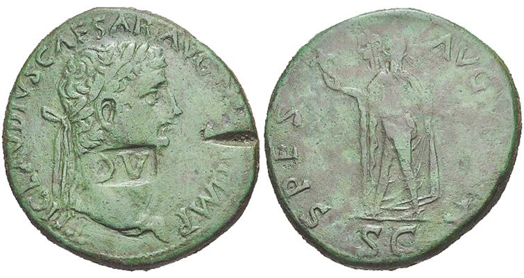 balkan-imitation-bronze-sestertius-claudius-circa-41-to-54-ad