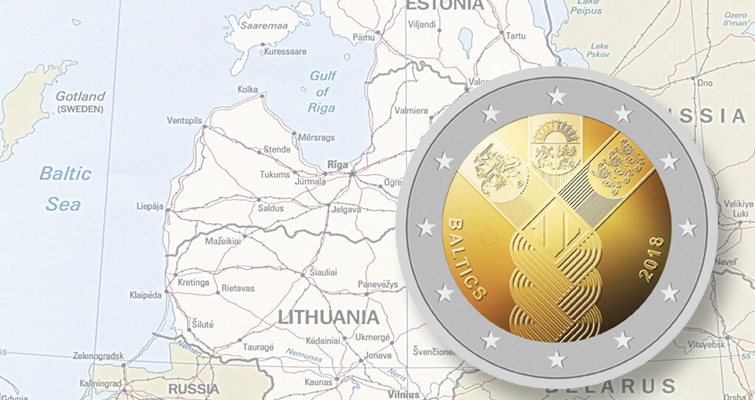 Baltic states to share €2 commemorative coin design in 2018