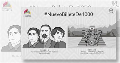 Bank of Mexico 1,000 peso note