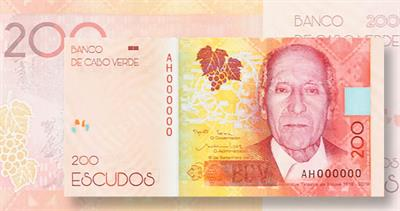 Cabo Verde 200-escudo