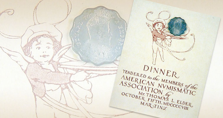 Original invitation from 1908 ANA Dinner exceeded $250 estimate: Market Analysis