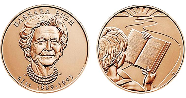 Barbara Bush medal