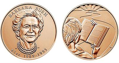 Barbara Bush medal