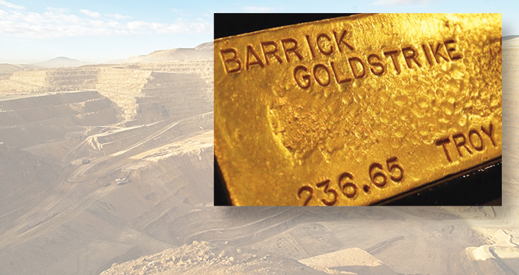 Barrick Gold Corp To Become World S Largest Gold Miner