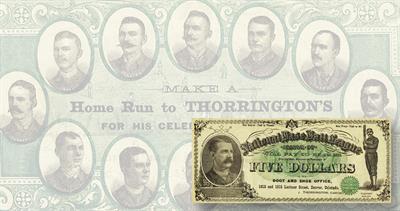 19th century baseball note