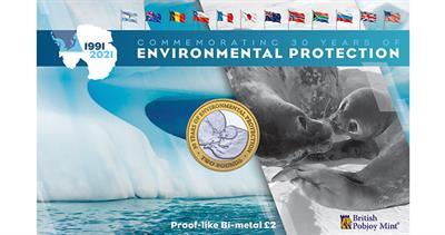 Antarctica environment coins