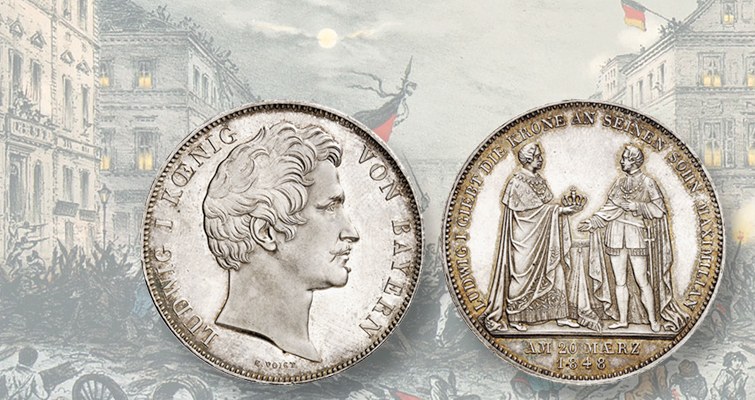 bavaria-1848-silver-double-taler-lead