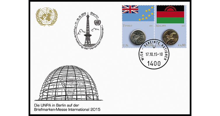 berlin-numismata-2015-first-day-cover