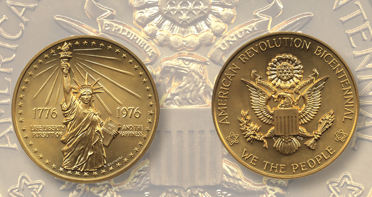 Legitimate gold coin resistance from the U.S. Mint